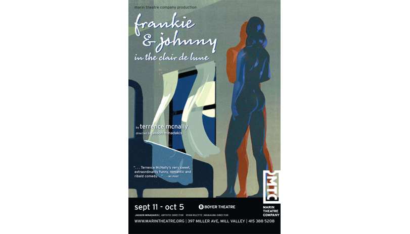 <strong style='color:black; font-style:normal;'>Marin Theatre Company</strong><br /><span style='color:black; font-style:normal;'>Frankie and Johnny</span><br />Illustrator: Mick Wiggins