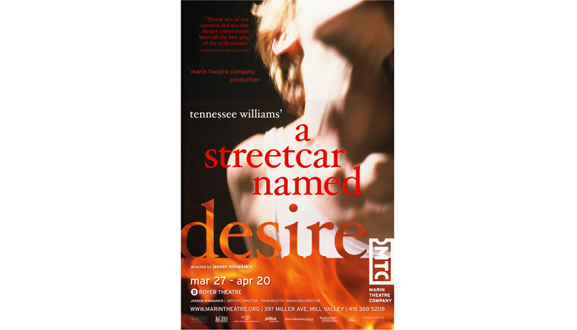 <strong style='color:black; font-style:normal;'>Marin Theatre Company</strong><br /><span style='color:black; font-style:normal;'>A Streetcar Named Desire</span>